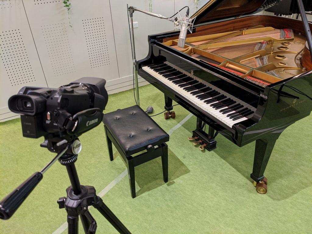プロモーションビデオ用素材撮影